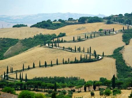 Cartina Giografica Toscana.Mappa Turistica Toscana Cartina Geografica E Itinerari